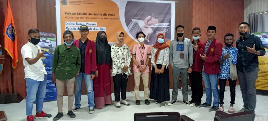 Terobosan Baru, FISHUM UNIMUDA Mengadakan Workshop Jurnalistik Dan Perlombaan Antar Mahasiswa Se-Kabupaten Sorong